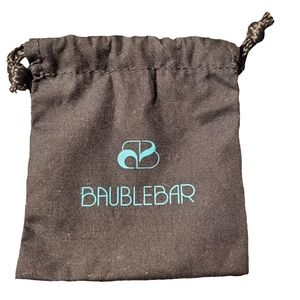 Baublebar Small Jewelry Pouch/Dustbag NWOT